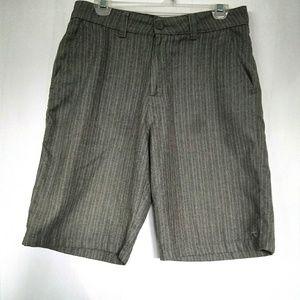 O'NEILL Grey Pin Stripped Sz 30 Shorts
